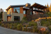 Custom home built in Bend Oregon by Wilcox Construction