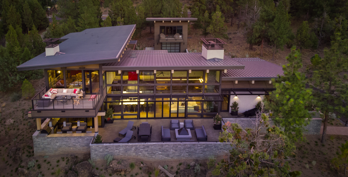 Custom home in Bend Oregon built by Wilcox Construction